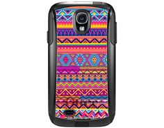 Otterbox Commuter Aztec Colourful Pattern Case for Samsung Galaxy S4 B-402 on Etsy, $49.99