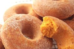 Pumpkin Donuts *BAKED* to Perfection!!