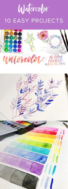 This class comes from Skillshare. You can get full streaming access to it along with 15,000 other classes FREE by clicking the link below. Watercolor can be fun for so many reasons. It's therapeutic, creative, experimental, and more. Watercolor: 10 Easy Projects Anyone Can Paint is just what its title says. This class brings you 10 projects that are fun, simple, and best of all, quick! You will learn to produce adorable illustrative watercolor paintings in no time flat.