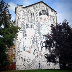 Italian artist Francesco Camillo Giorgino, known as Millo, Murals on the Streets of Italy