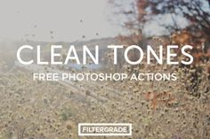 This exclusive freebie will enhance your images like nothing else. Get beautiful tones for your photography work in seconds with Clean Tones, a beautiful little set of free Photoshop actions from FilterGrade. If you need a few more subtle filters for Photoshop, we recommend FilmTone. Screenshots