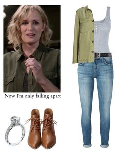 Mary Winchester - spn / supernatural by shadyannon on Polyvore featuring polyvore fashion style Aqua Current/Elliott Belstaff clothing