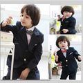 BABY WOW winter vestidos baby boy christmas birthday party wedding suit clothing set dress for 2-10T boys kids clothes 7004