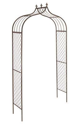 Stylish Gardman Bronze Metal Versailles Garden Arch Plant Support x Backyard Pergola, Pergola Plans, Metal Pergola, Patio, Pergola Kits, Garden Arch Trellis, Plant Trellis, Garden Archway, Versailles Garden