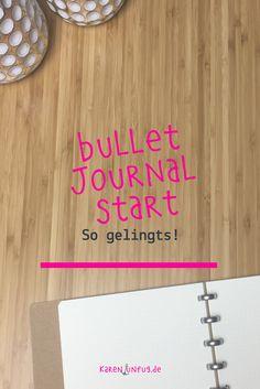 Für den Bullet Journal Start brauchst Du nicht viel - nur ein Notizbuch und einen Stift. Es geht im Grunde darum, alles was Dich beschäftigt - Ideen, Aufgaben, Projekte und Termine in diesem Notizbuch festzuhalten.