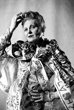 Dame Vivienne Westwood, DBE, RDI (born Vivienne Isabel Swire in 1941) is an English fashion designer and businesswoman, largely responsible for bringing modern punk and new wave fashions into the mainstream. Westwood has six exclusively-owned shops; four in London, one in Leeds, and one in Milan. She also has showrooms in Milan, Paris, Los Angeles, and Honolulu.
