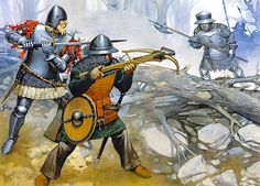 """""""Sweden, early 15th century"""" • Swedish man-at-arms, first half 15th century •…"""