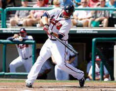 Atlanta Braves catcher, Brian McCann.