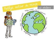 """Ateliers lecture """"Autour du monde """""""