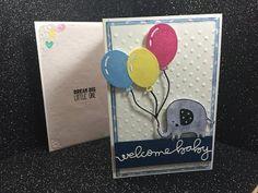 Creating a Baby Tri Card using various metal Dies. - YouTube