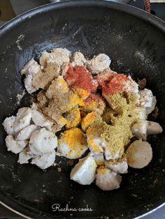 Arbi Recipe for Vrat Farali Recipes, Sabzi Recipe, Tasty, Yummy Food, Clarified Butter, Coriander, Cooker, Side Dishes, Fries