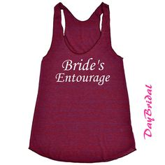 BRIDES ENTOURAGE Tank Top