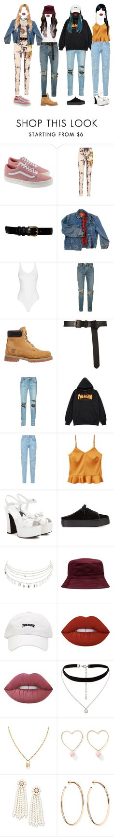 """""""- lazy fashion"""" by xxzodiacentertainmentxx ❤ liked on Polyvore featuring Vans, Gucci, Yves Saint Laurent, Wrangler, Topman, Timberland, AMIRI, Forte Couture, MANGO and Opening Ceremony"""