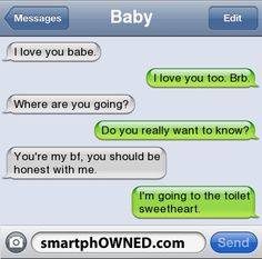 Page 17 - Relationships - Autocorrect Fails and Funny Text Messages - SmartphOWNED