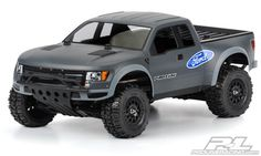 Pro-Line's new True Scale Ford Raptor for Slash and SC10. Comes pre-cut!