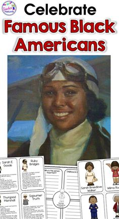 Famous African Americans graphic organizers support students as they learn how to research information for Black History Month and write in expository or informative formats. Teach your class how to navigate and organize information. Easily differentiated to multiple student learning levels. **NO PREP & VERY EASY TO USE** #blackhistorymonthpeople #researchforkids #TeacherFeatures #tpt #biographyproject #2ndgrade #3rdgrade #famousperson #biographyprojectelementary #blackhistoryactivities