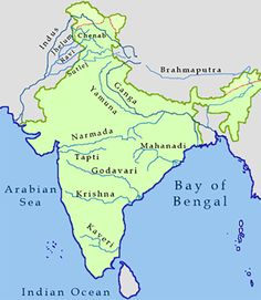 Major Rivers of India can be divided in two groups Himalayan system and peninsular system. Indus, Ganga and Brahmaputra are main rivers in Himalayan system. Geography Activities, Geography Map, Geography Lessons, Teaching Geography, World Geography, India World Map, India Map, India India, Ancient Indian History