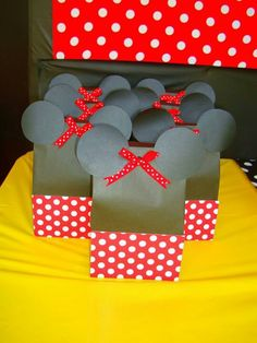 Minnie mouse goodie bags
