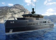 Yacht Concept Of The Day: The UP40 Explorer by Antonini Navi