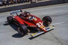 Gilles Villeneuve | Ferrari 126C2 | US Grand Prix West