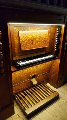 La console de l'orgue Echo-Expressif