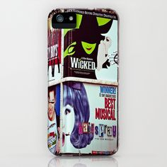 New York City Broadway Signs iPhone Case