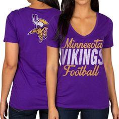 Toddler Minnesota Vikings Gold/Purple Off-Field T-Shirt and Pant Set