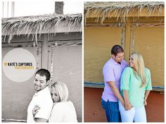 Engagement Session // Pensacola Beach // Kate's Captures Photography