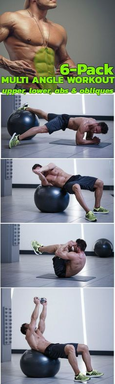 Abs Workout To Achieve Perfect Abs. Challenge Upper abs Lower abs obliques! The exercises are divided into three sections: upper abs, obliques, and lower abs. To get serious definition at your lower abs, you still need direct ab exercises. Tone your tummy