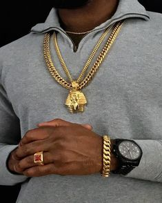 Explore our men's Cuban Link Chain, Iced Out Chains, Tennis Chains collection from Twenty 7 Links. Shop our latest Hip Hop Chains in Gold and White Gold. Necklace Guide, Men Necklace, Boyfriend Necklace, Mens Gold Bracelets, Gold Chains For Men, Name Jewelry, Golden Jewelry, Swagg, 18k Gold