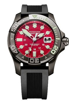 This is my favorite watch... wear it all the time :) Victorinox Swiss Army Dive Master 500