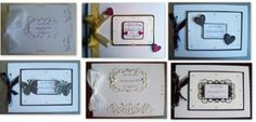 Handmade Personalised Wedding Guest Books/Photo Albums - A4 £20.00  - Creative Connections #CRAFTfest