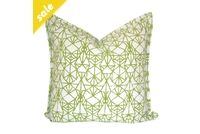 Green Diamond Scatter Cushion by Elle Kay Fabrics