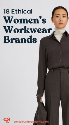 Finding dress-code compliant workwear that you actually enjoy wearing is already a struggle. This collection of brands with ethical workwear, includes structured button-ups and blazers, well-fitted trousers, silky blouses, pencil skirts, and sheath dresses—for any woman seeking office-appropriate pieces. #ethicalfashion #ethicalworkwear #ethicalworkclothing Workwear Brands, Ethical Fashion Brands, Fair Trade Fashion, Sheath Dresses, Pencil Skirts, Slow Fashion, Dress Codes, Minimalist Fashion, Sustainable Fashion