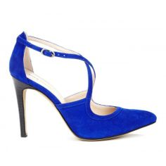 Karenza Crossover Pump - Crystal Blue