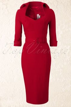 50s Lorelei Dress Marilyn Monroe in Red