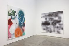 Jeff Elrod 'Rabbit Ears' Installation view, Luhring Augustine, New York March 8 - April 12, 2014