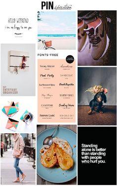 Pinterest Péntek ~ PIN MAGAZIN Surfboard Wax, Peach Popsicles, Better Alone, Hello Weekend, Entryway Organization, Friday, Diy, Inspiration, Biblical Inspiration