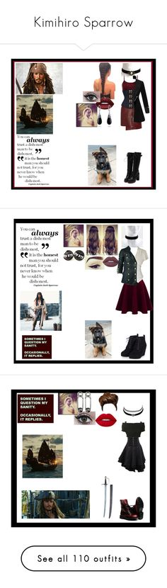 """""""Kimihiro Sparrow"""" by thin-mint on Polyvore featuring BKE, Isabel Marant, Bling Jewelry, Marvel, Bllack by Noir, Lime Crime, Topshop, Charlotte Russe, Hello Kitty and BKE core"""