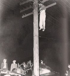 Automobile Accident 1945