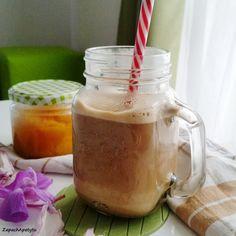 Pumpkin spice latte #zapachapetytu #pumpkin #pumpkinspicelatte #pumpkinspice Pumpkin Spice Latte, Mason Jars, Spices, Cooking Recipes, Breakfast, Tableware, Morning Coffee, Spice, Dinnerware