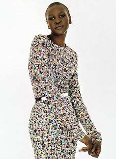 Alek Wek | 20 Models Who Prove That Short Hair Is Insanely Hot