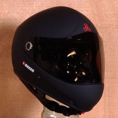 Triple 8 Racer Downhill Helmet - Matte Black