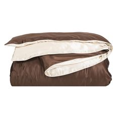 Discover the Gingerlily Nude Pink/Chocolate Duvet Cover - King at Amara
