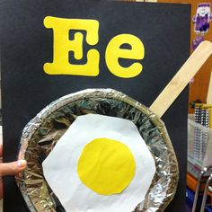 """""""E"""" is for enormous egg!"""