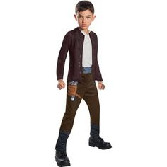 Boys Poe Dameron Star Wars The Last Jedi Costume