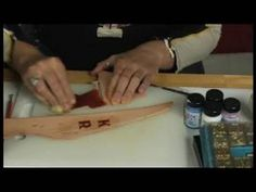 Basic Leather Working : Learn About Dye Buffing Leather Work