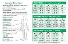 Serengeti Catalog Size Chart