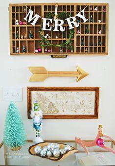 Christmas Home Tour | MyFabulessLife.com