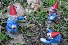 Gnomi zombie da giardino
